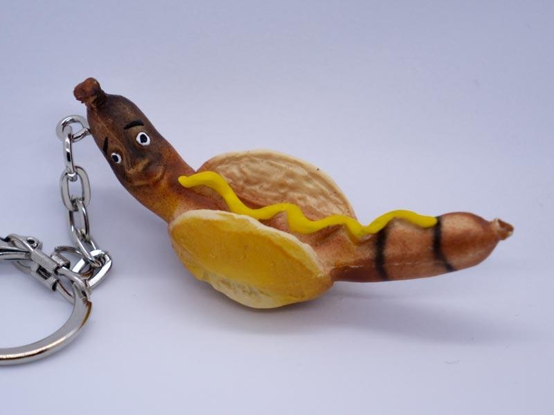 Schlüsselanhänger Bratwurst